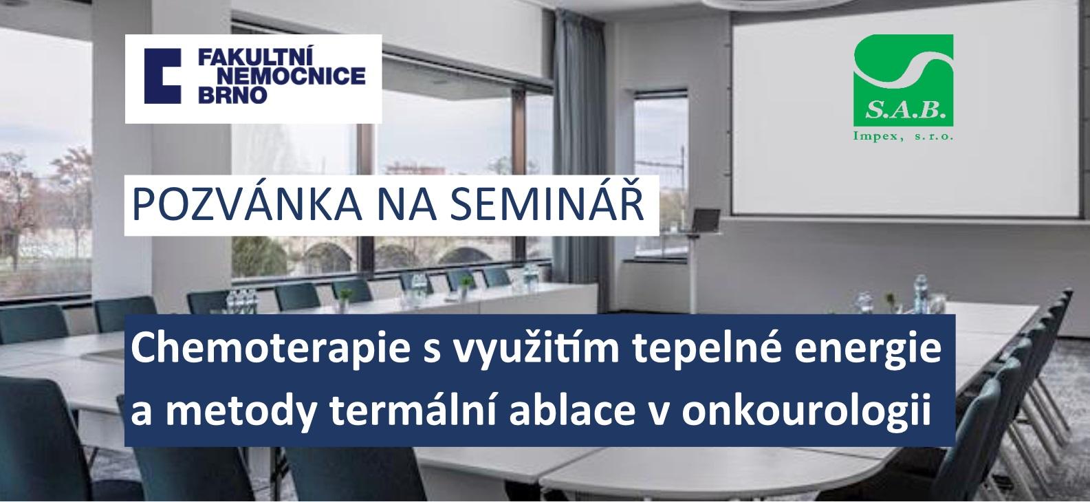 Pozvánka na seminář onkourologie